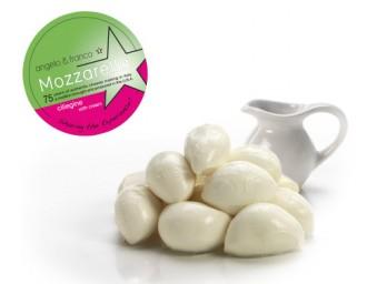 Mozzarella Ciliegine with Cream